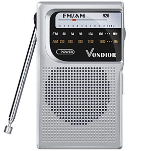AM-FM Battery Operated Portable Pocket Radio
