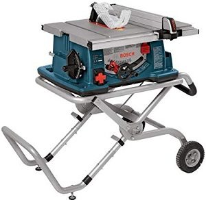 Bosch 4100-09 Rolling Worksite Table Saw