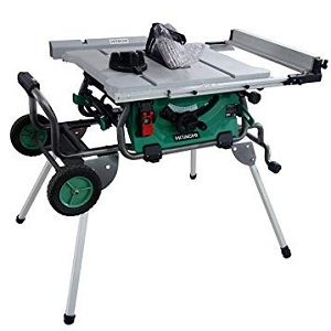 Hitachi C10RJ 10″ Portable Job-Site Tablesaw