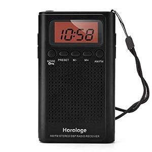Horologe AM FM Pocket Radio