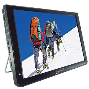 Supersonic SC-2812 12″ Portable Ultra Lightweight Widescreen LED TV