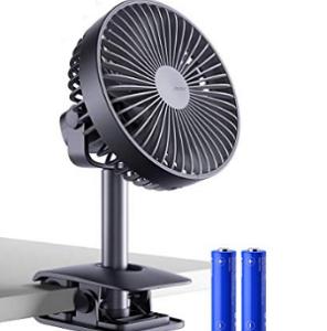 jesir Battery Operated Clip on Fan