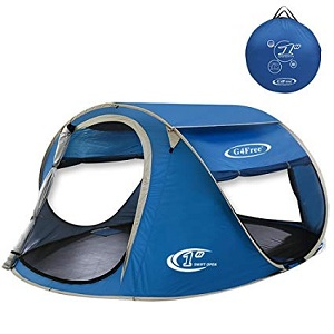 G4Free Pop-Up Tent 3-4 Person Automatic
