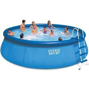 Intex Easy Set Above Ground Inflatable Swimming Pool