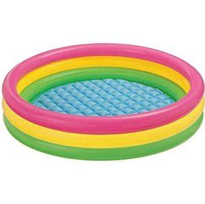 Intex Kiddie Pool – Kid's Summer Sunset Glow Design