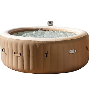 Intex 77in PureSpa Portable Hot Tub Bubble Massage Spa Set