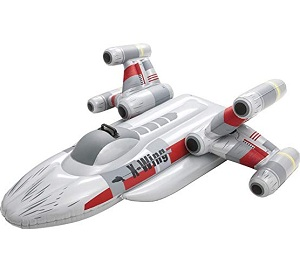 Bestway Star Wars X-Fighter Inflatable Rider Toy