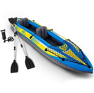 Goplus Inflatable Kayak 3 Seperate Air Chambers