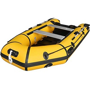 Max4out Inflatable Boat Fishing Dinghy 2 Paddles Sport Tender