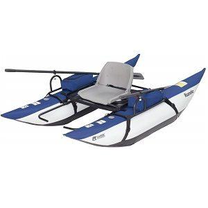 Roanoke Inflatable Pontoon Boat