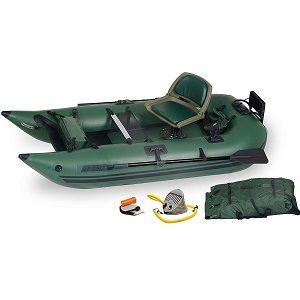 Sea Eagle 285 Inflatable Frameless Pontoon Boat