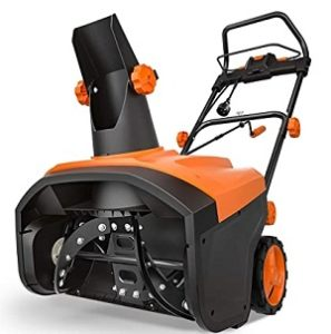 TACKLIFE Best Electric Snow Thrower